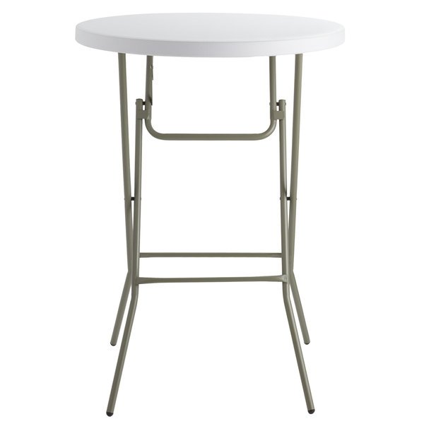 Plastic High Top Table 32 Round Plastic Folding Event Table
