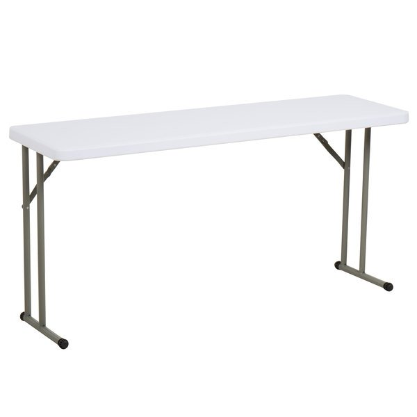 Brilliant Lancaster Table Seating 18 X 60 Granite White Heavy Duty Blow Molded Plastic Folding Table Pabps2019 Chair Design Images Pabps2019Com