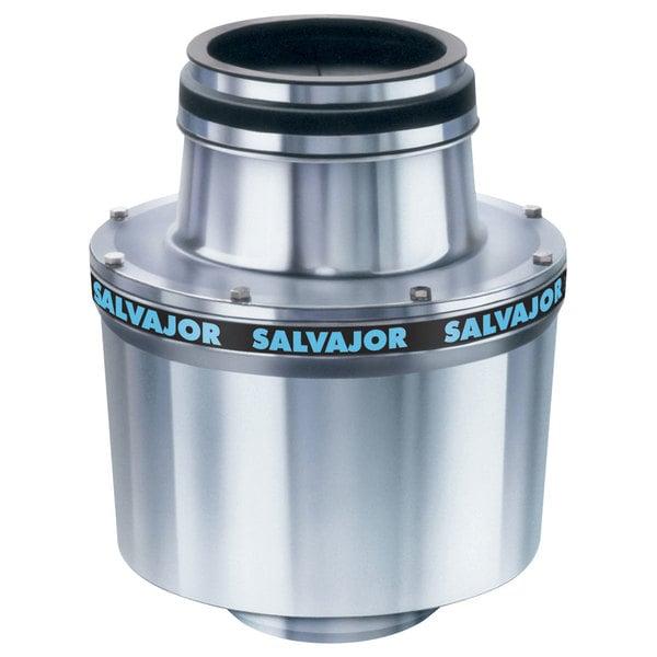 Salvajor 100 Commercial Garbage Disposer - 208V, 3 Phase, 1 hp