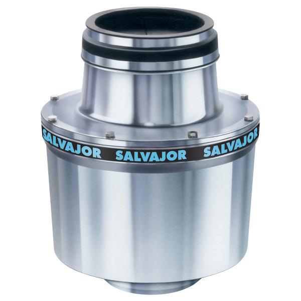 Salvajor 100 Commercial Garbage Disposer - 208V, 3 Phase, 1 hp Main Image 1