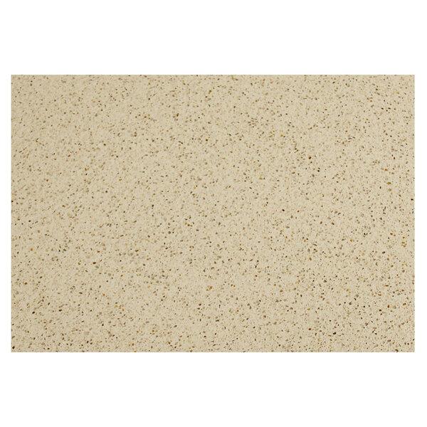 "Art Marble Furniture Q407 30"" x 42"" Cambrian Gold Quartz Tabletop Main Image 1"