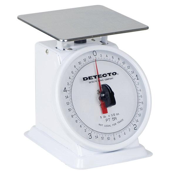 Cardinal Detecto PT-500RK Top Rotating Dial Scale - 500 Gram