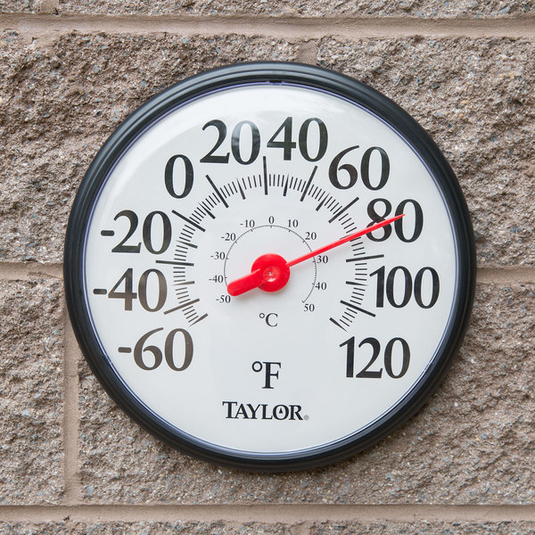 "Taylor 6700 12"" Large Dial Thermometer"