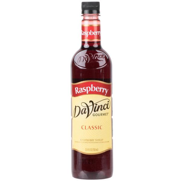 DaVinci Gourmet 750 mL Classic Raspberry Flavoring / Fruit Syrup