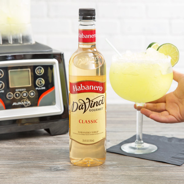 DaVinci Gourmet 750 mL Classic Habenero Flavoring Syrup