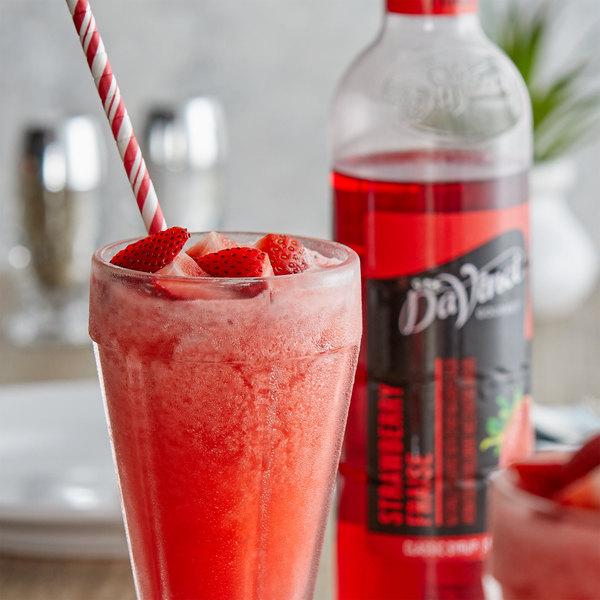 DaVinci Gourmet 750 mL Classic Strawberry Flavoring / Fruit Syrup Main Image 2