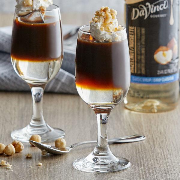 DaVinci Gourmet 750 mL Sugar Free Hazelnut Flavoring Syrup Main Image 2