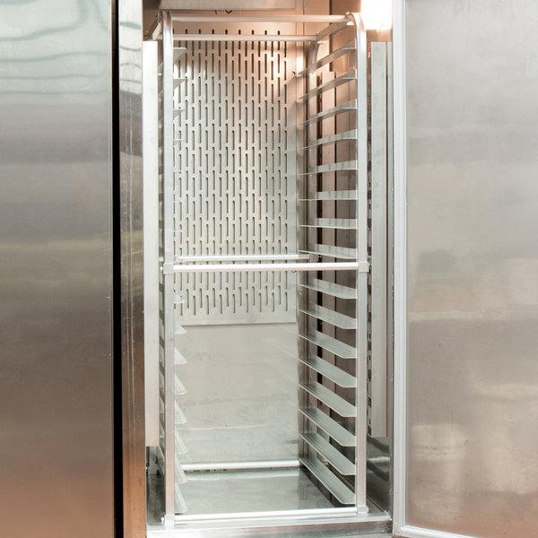 Regency 16 Pan Aluminum End Load Sheet / Bun Pan Rack for Reach-Ins - Unassembled Main Image 3