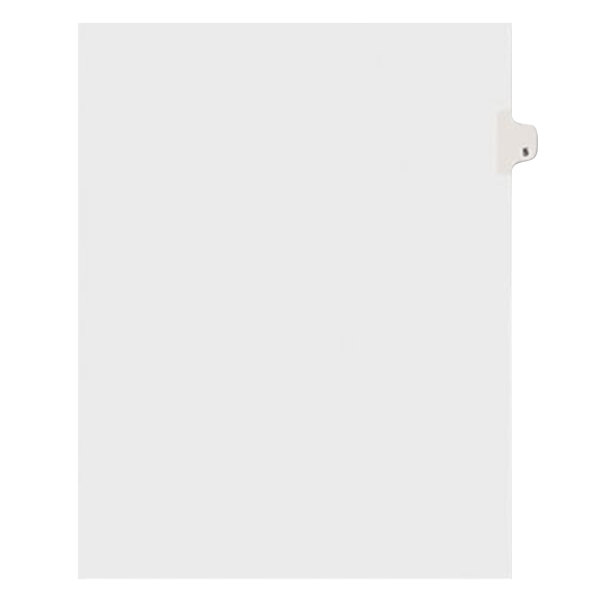 Avery 11915 Individual Legal Exhibit #5 Side Tab Divider - 25/Pack