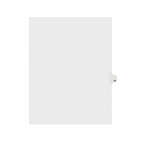 Avery 11925 Individual Legal Exhibit #15 Side Tab Divider - 25/Pack Main Image 1