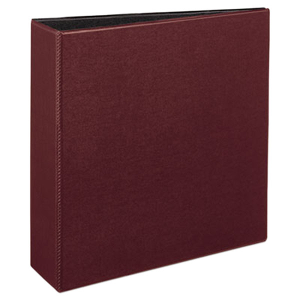 """Avery 27652 Burgundy Durable Non-View Binder with 3"""" Slant Rings Main Image 1"""