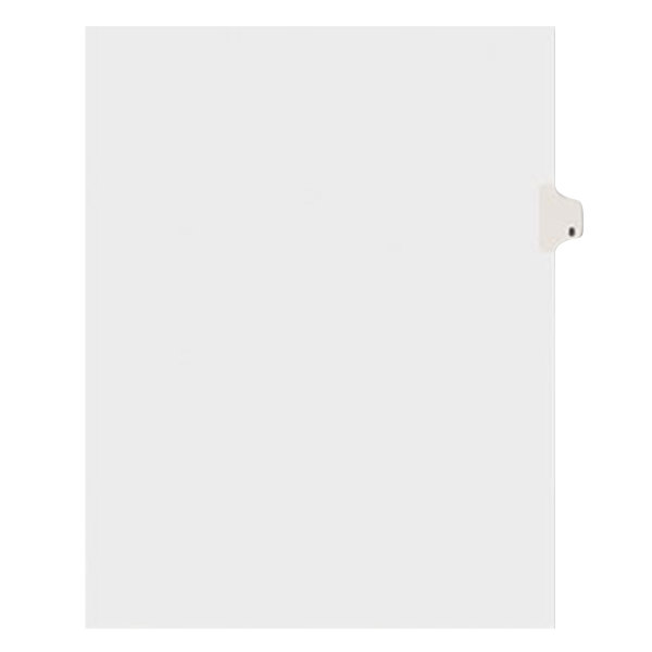 Avery 11918 Individual Legal Exhibit #8 Side Tab Divider - 25/Pack