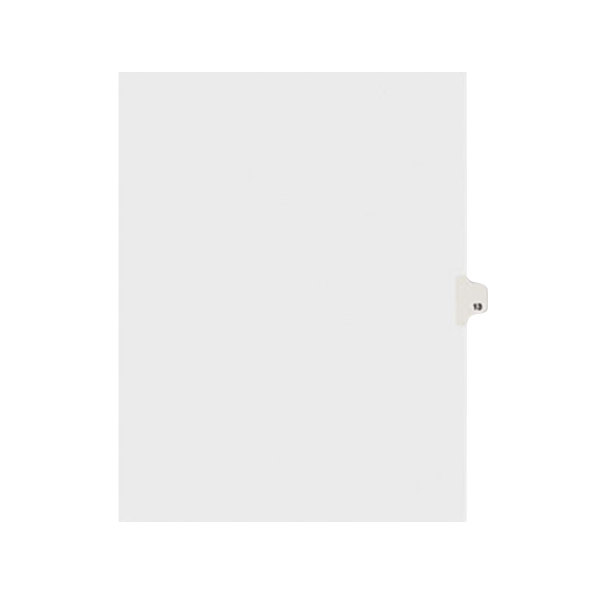 Avery 11923 Individual Legal Exhibit #13 Side Tab Divider - 25/Pack Main Image 1
