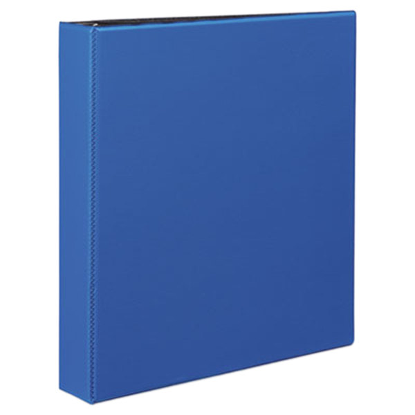 """Avery 27351 Blue Durable Non-View Binder with 1 1/2"""" Slant Rings Main Image 1"""