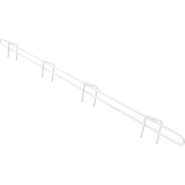 "Metro L24N-W Super Erecta White Ledge 24"" x 1"" Main Image 1"