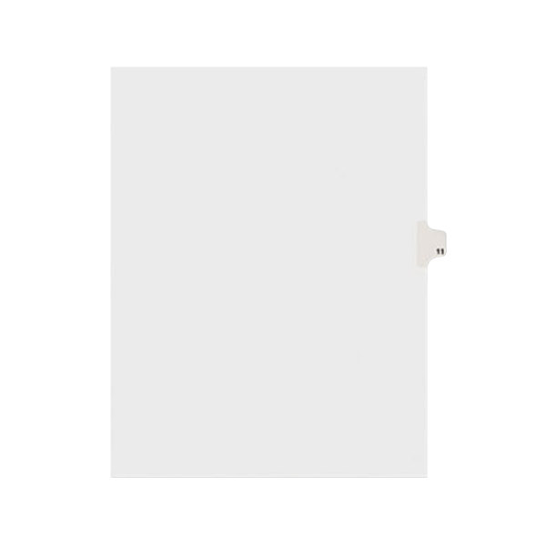 Avery 11921 Individual Legal Exhibit #11 Side Tab Divider - 25/Pack