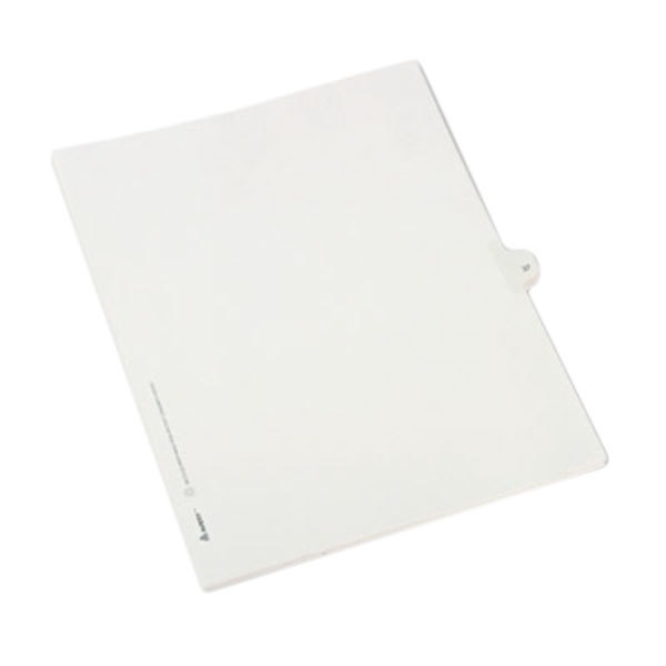 Avery 82235 Allstate-Style Legal Exhibit #37 Side Tab Divider - 25/Pack Main Image 1