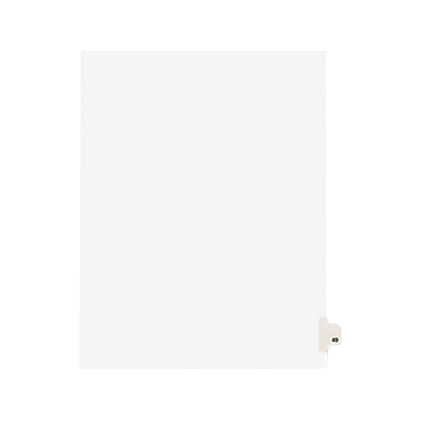 Avery 1049 Individual Legal Exhibit #49 Side Tab Divider - 25/Pack Main Image 1