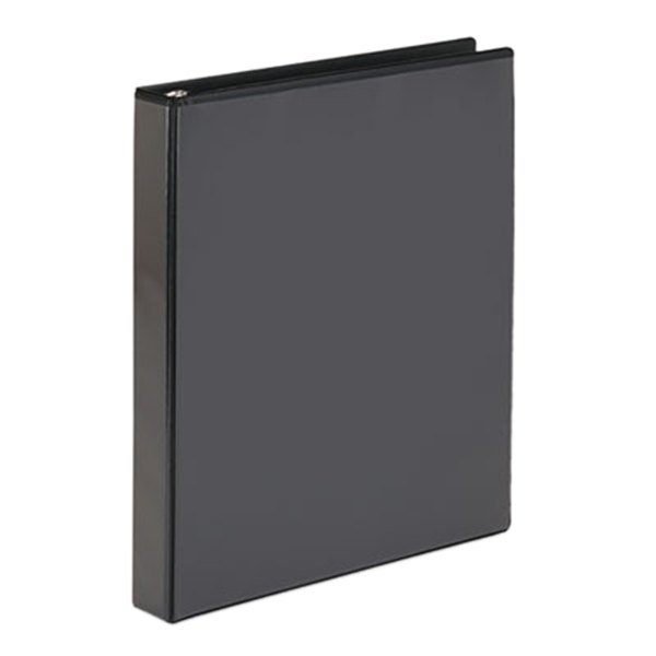 "Avery 19600 Black Economy Showcase View Binder with 1"" Round Rings"