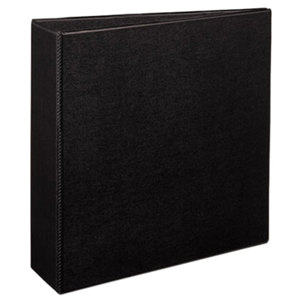 Avery 27650 Black Durable Non-View Binder with 3 inch Slant Rings