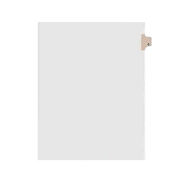 Avery 1403 Individual Legal Exhibit C Side Tab Divider - 25/Pack Main Image 1