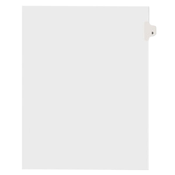 Avery 11913 Individual Legal Exhibit #3 Side Tab Divider - 25/Pack Main Image 1