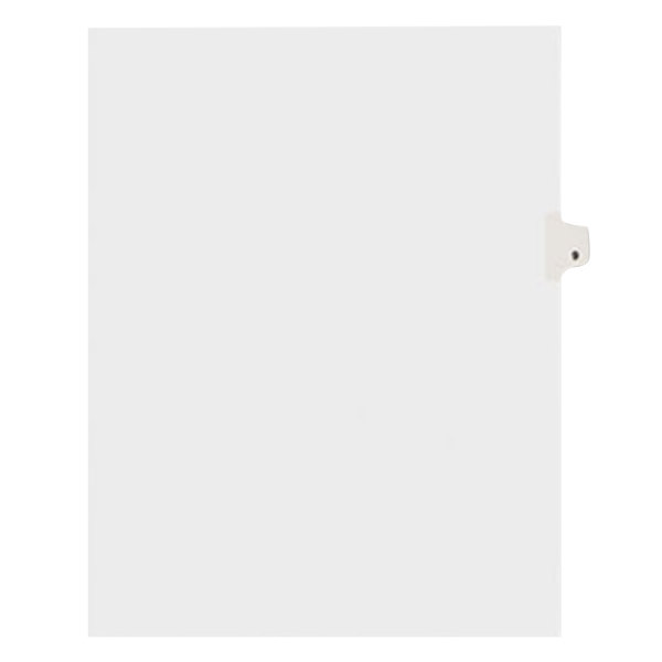 Avery 11919 Individual Legal Exhibit #9 Side Tab Divider - 25/Pack Main Image 1