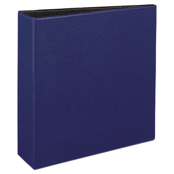 "Avery 27651 Blue Durable Non-View Binder with 3"" Slant Rings Main Image 1"