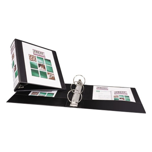 "Avery 5740 Black Economy View Binder with 3"" Round Rings"