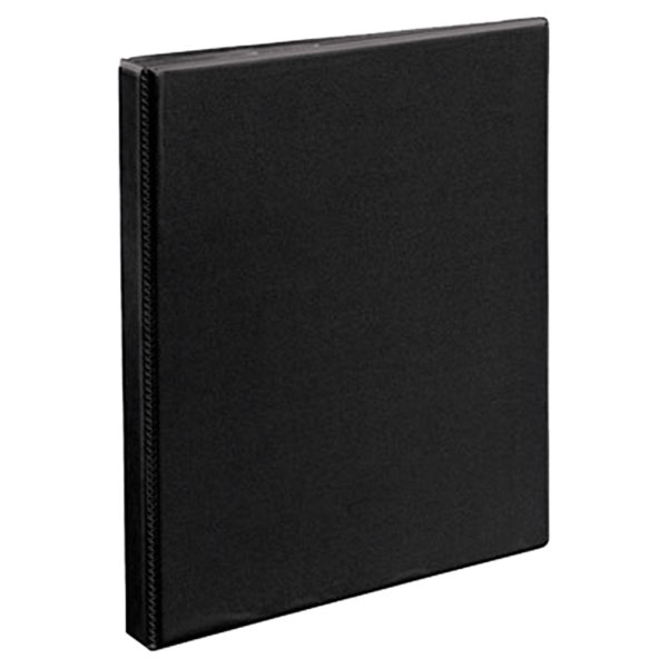 """Avery 5233 Black Heavy-Duty Non-Stick View Binder with 1/2"""" Slant Rings"""