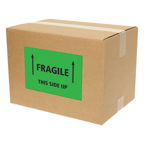avery 5952 5 1 2 x 8 1 2 neon green shipping labels 200 box