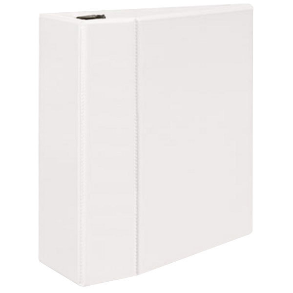 """Avery 9901 White Durable View Binder with 5"""" Locking One Touch EZD Rings Main Image 1"""