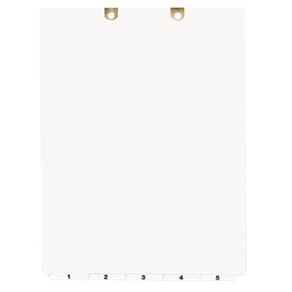 Avery 13162 5-Tab Pre-Printed Narrow Bottom Tab Dividers