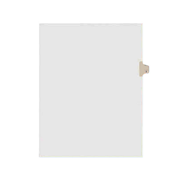 Avery 1409 Individual Legal Exhibit I Side Tab Divider - 25/Pack