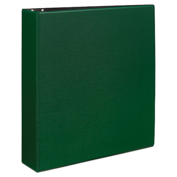 "Avery 27553 Green Durable Non-View Binder with 2"" Slant Rings"