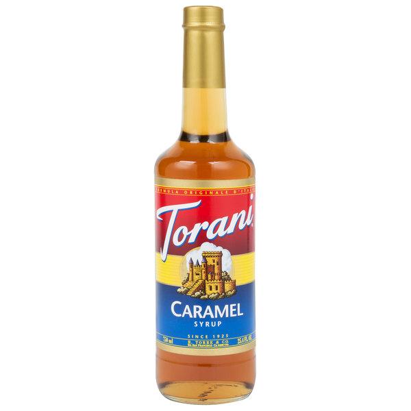 Torani 750 mL Caramel Flavoring Syrup Main Image 1