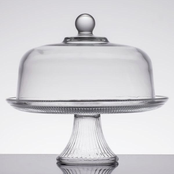 Inch Cake Stand With Cover