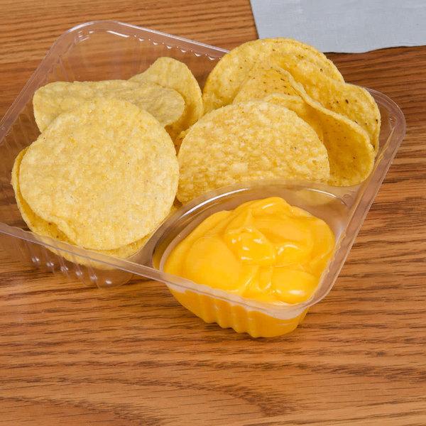 Carnival King 110 oz. Cheddar Cheese Sauce Bag - 4/Case
