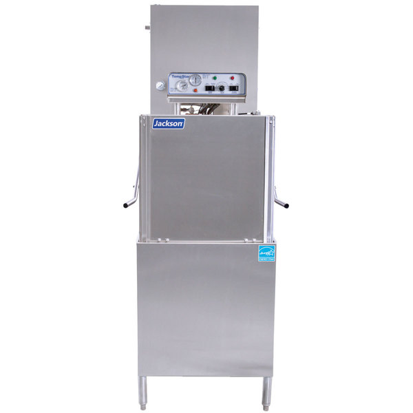 Jackson TempStar Ventless High Temperature Door Type Dish Washer with Electric Booster Heater - 208/230V, 1 Phase Main Image 1