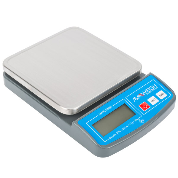 AvaWeigh PC20 20 Ib  Compact Digital Portion Control Scale