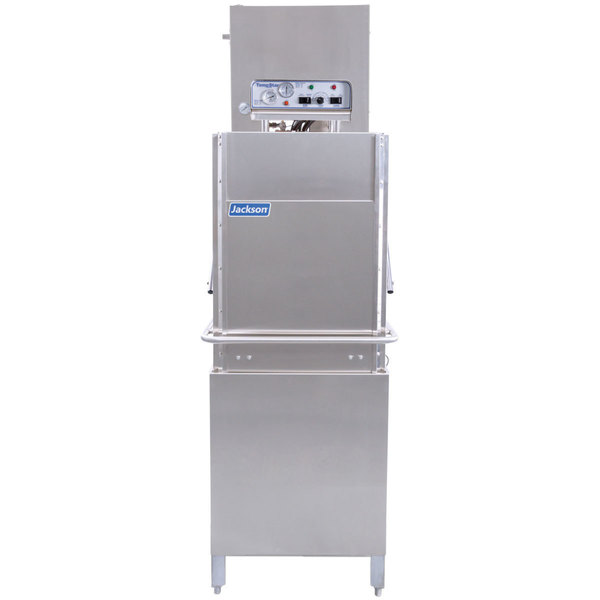 Jackson TempStar HH-E Ventless High Hood Door Type Dishwasher with Electric Booster Heater - 208/230V, 3 Phase Main Image 1