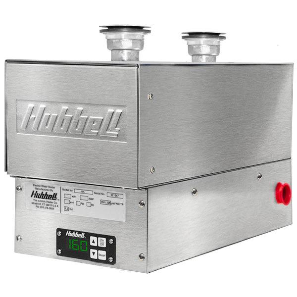 Hubbell JSK-3RS 3 kW Sanitizing Sink Heater - 208V, 1 Phase