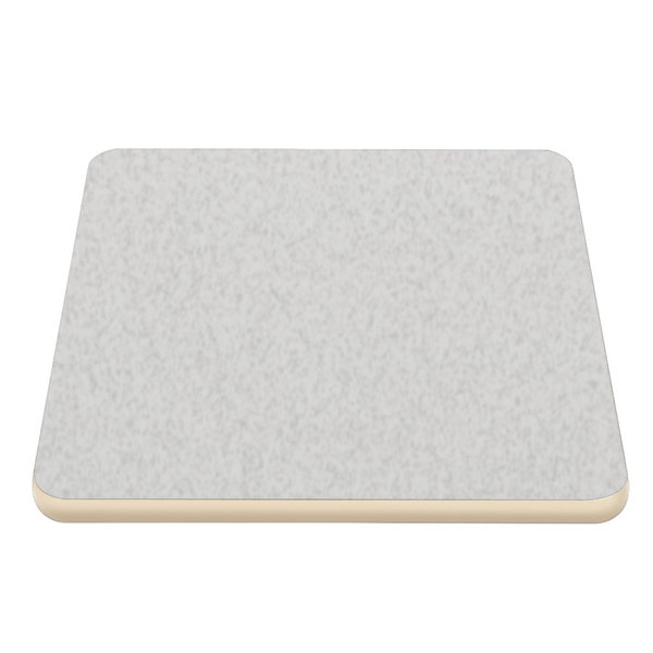 """American Tables & Seating ATS2448-CR 24"""" x 48"""" Laminated Rectangle Tabletop with Cream Edge"""