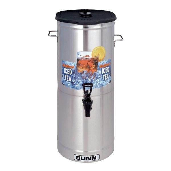 Bunn 34100.0003 TDO-5 5 Gallon Iced Tea Dispenser with Brew-Through Lid