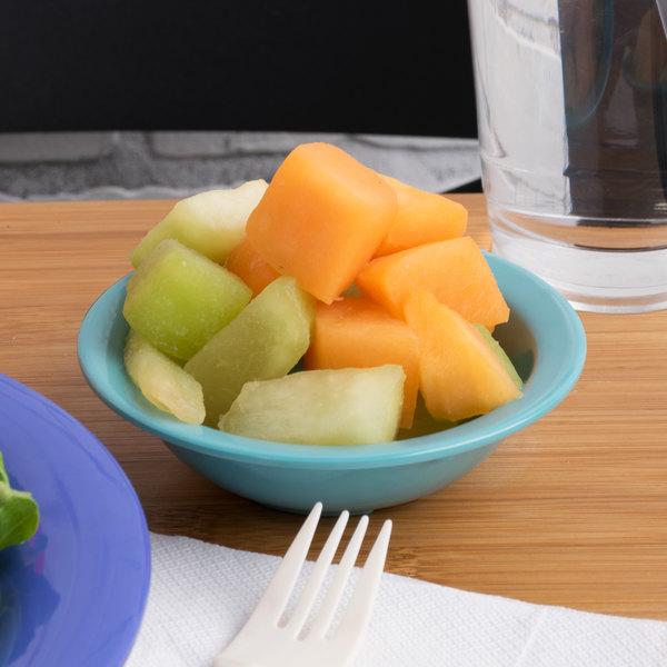 Carlisle 4386663 Turquoise Dayton 4.75 oz. Fruit Bowl - 48/Case