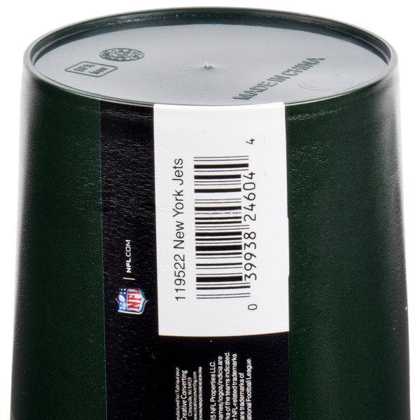 edf2add3 Creative Converting 119522 New York Jets 22 oz. Plastic Souvenir Cup -  20/Case