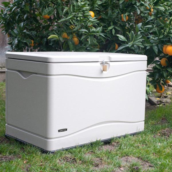 & Lifetime 60059 Desert Sand 80 Gallon Outdoor Storage Box