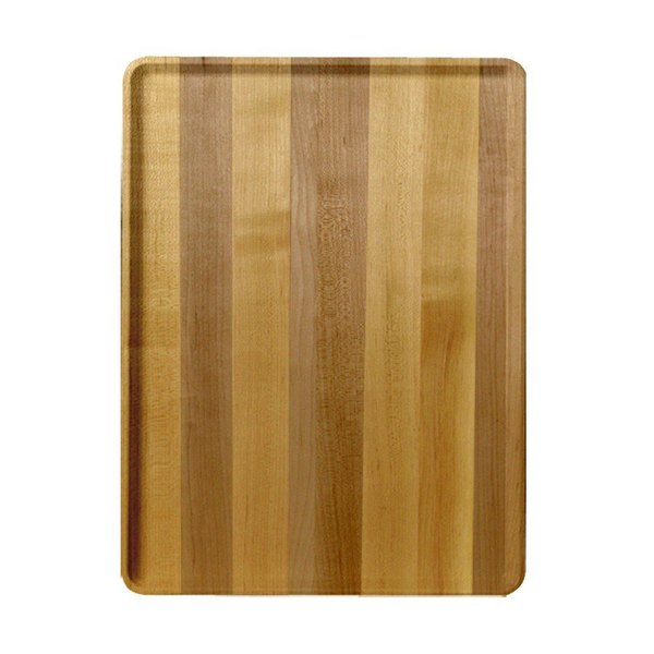 "Cambro 1220D303 12"" x 20"" Light Butcher Block Wood-Look Dietary Tray - 12/Case"