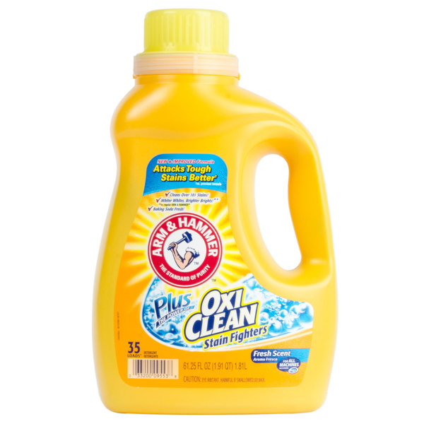 Arm & Hammer 61.25 oz. Plus OxiClean Liquid Laundry Detergent