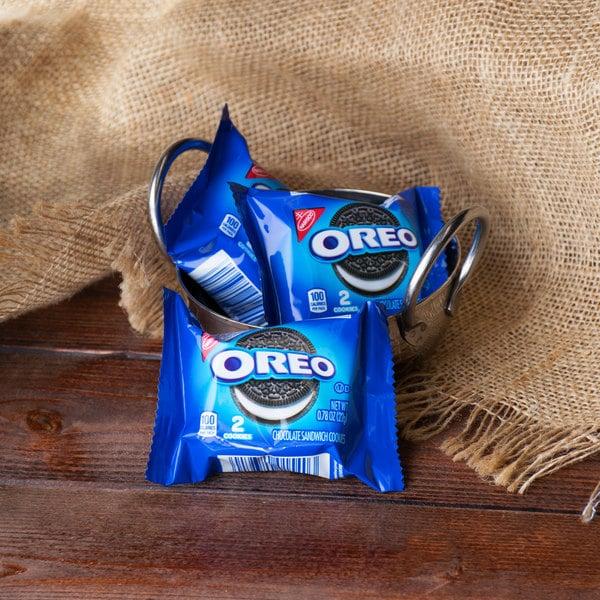 Admirable Nabisco 2 Count 78 Oz Oreo Cookie Snack Pack 120 Case Spiritservingveterans Wood Chair Design Ideas Spiritservingveteransorg